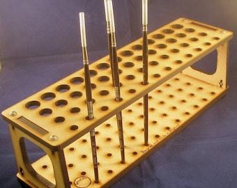 Modeller's Rectangular Paint Brush & Tool Rack