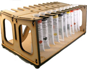 Twin Paint Rack for oil paint types