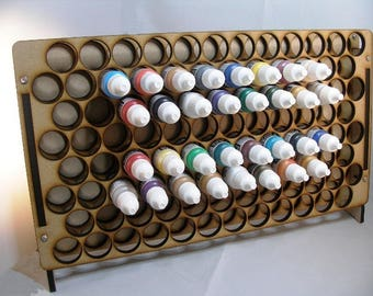 Vertical Paint Rack for all major type paints.