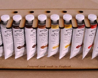 Small Paint Rack for oil paint types