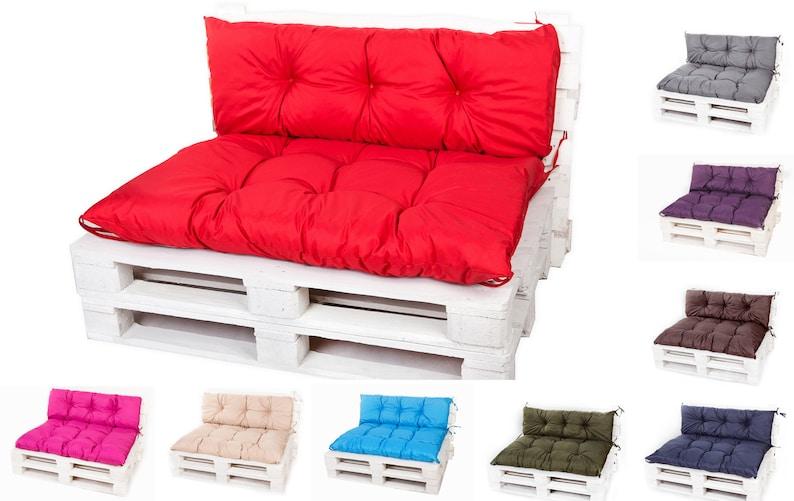 Slaapbank 50 Euro.Euro Pallet Kussens Pad Kussen Waterdicht Tuin Slaapbank Couch Etsy