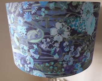 Liberty London Hampton Wedding Belgravia Silk Satin Fabric Lamp Shade - Handmade