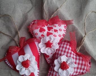 hanging hearts set