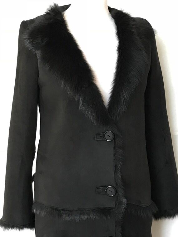 Collars, Garments Brown Lamb Sheepskin Toscana Lambskin Clothing
