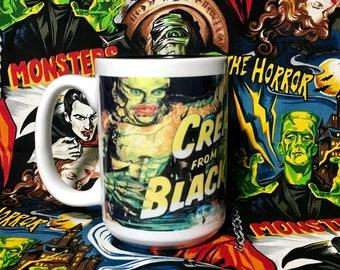 Creature from the Black Lagoon 15 oz coffee mug