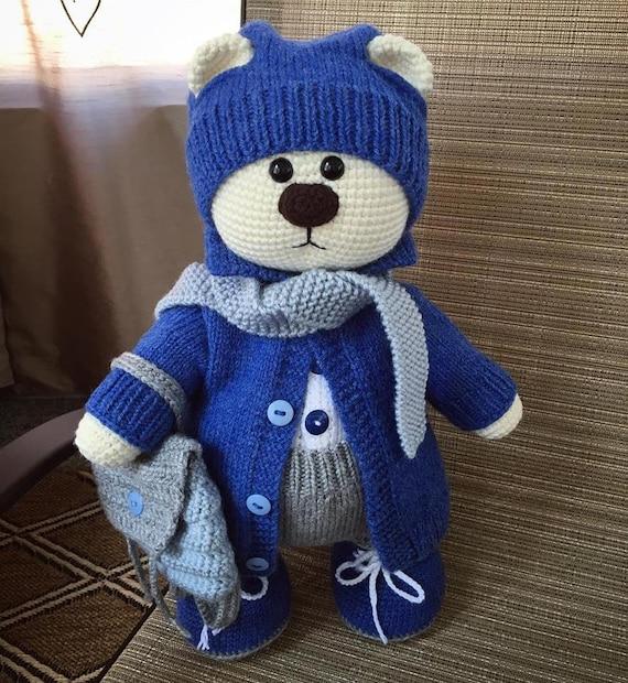 Miniature Crochet THREAD ARTist Bear and Lollipop par ... | 620x570