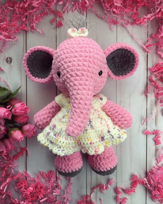 Crochet Kit Ella Elephant Crochet Kit: Amazon.co.uk: Handmade | 712x570