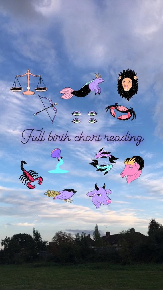 Complete Birth Chart Reading Etsy