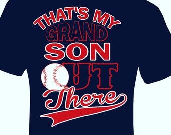 Baseball Grandparent shirt