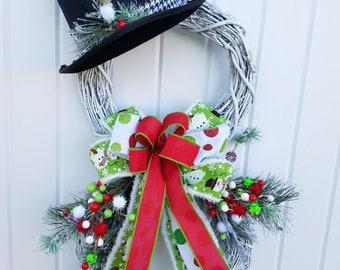 Christmas Door.Christmas Door Decor Etsy