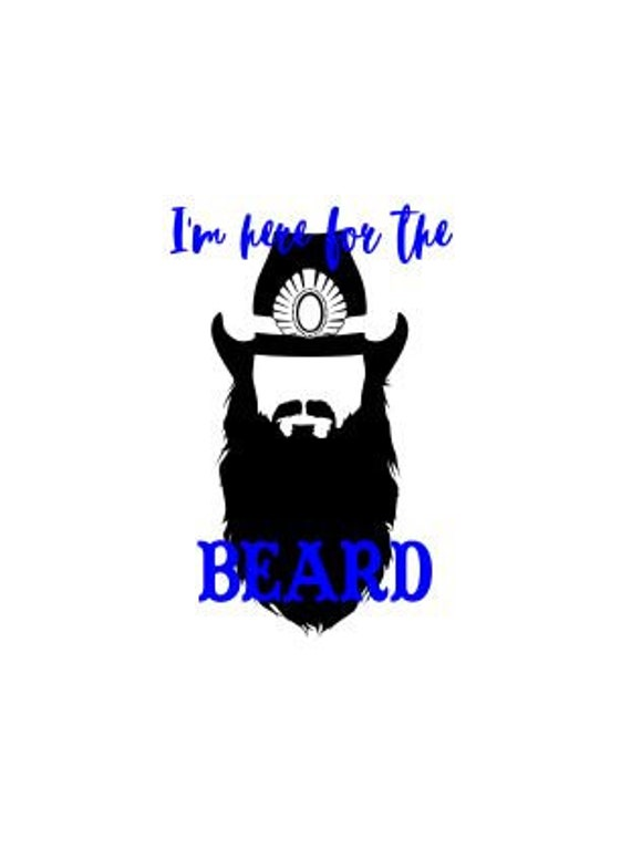 I M Here For The Beard Etsy