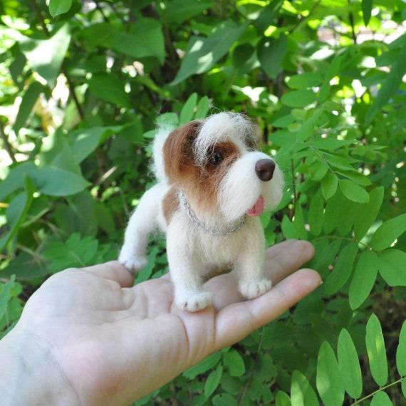 Baby Bandana Bib I Love Jack Russel Terriers cute pet