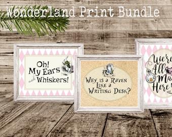 Wonderland Print Bundle