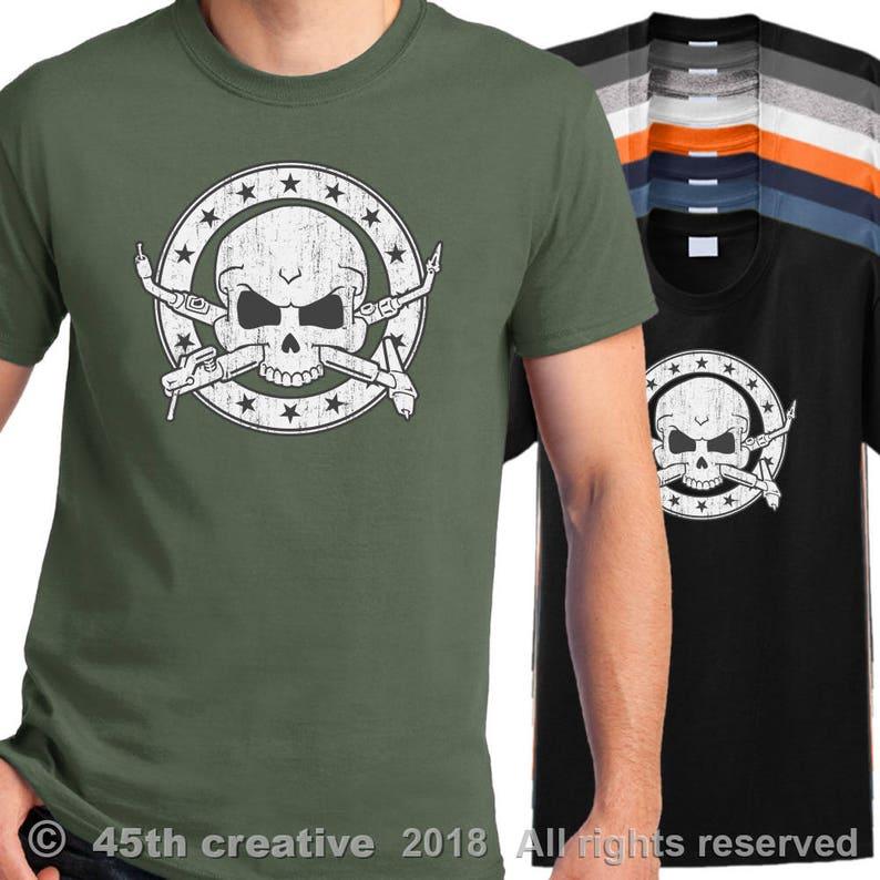 b57cd0ea Welder Crossbones T-shirt welder skull shirt welders cross | Etsy