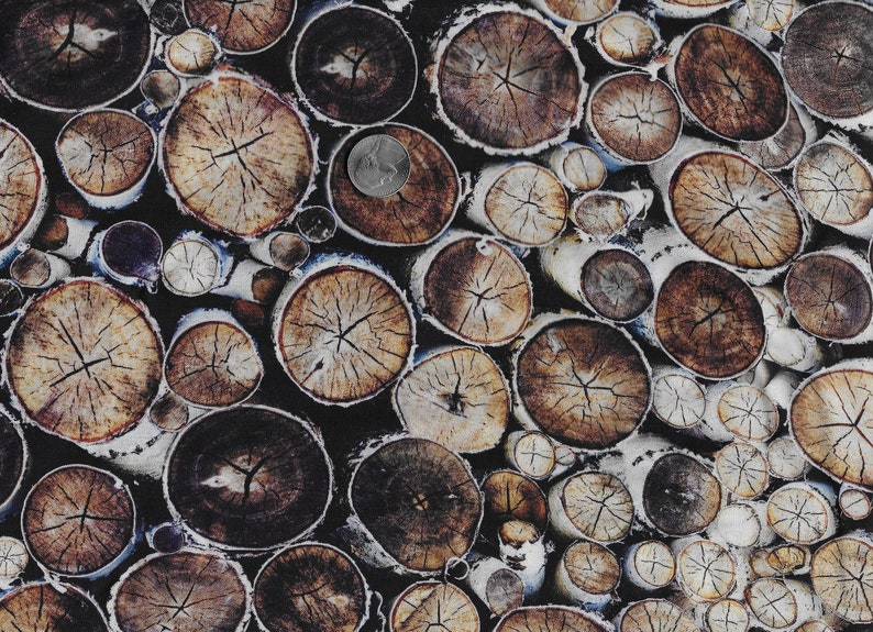 Wood print Fabric Quilting Cotton