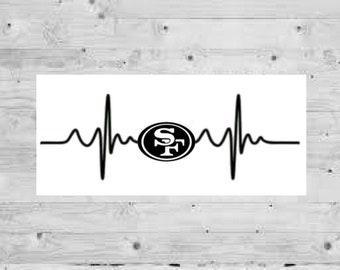 San francisco 49ers sticker  11bd3bcac