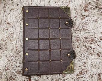 handmade journal, blank book