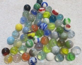 NEW 5 WHITE GHOST /& 5 BLACK BEAUTY 10 GLASS MARBLES 14mm HOM