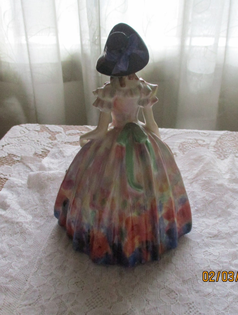 Elegant Figurine Easter Day Southern Belle Figurine Royal Doulton Collector Marked Royal Doulton HN#2039 Royal Doulton Figurine