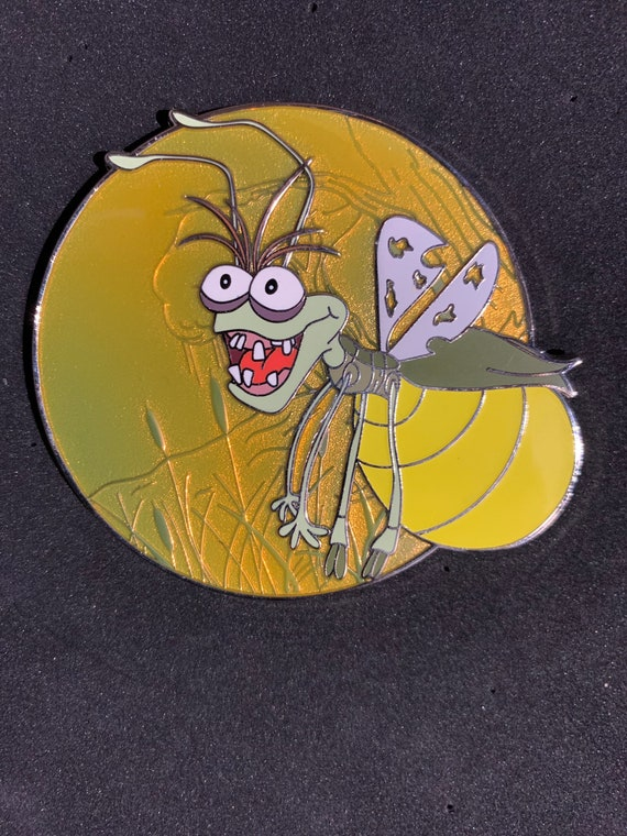 Limited Edition Ray The Firefly Profile Pin Etsy