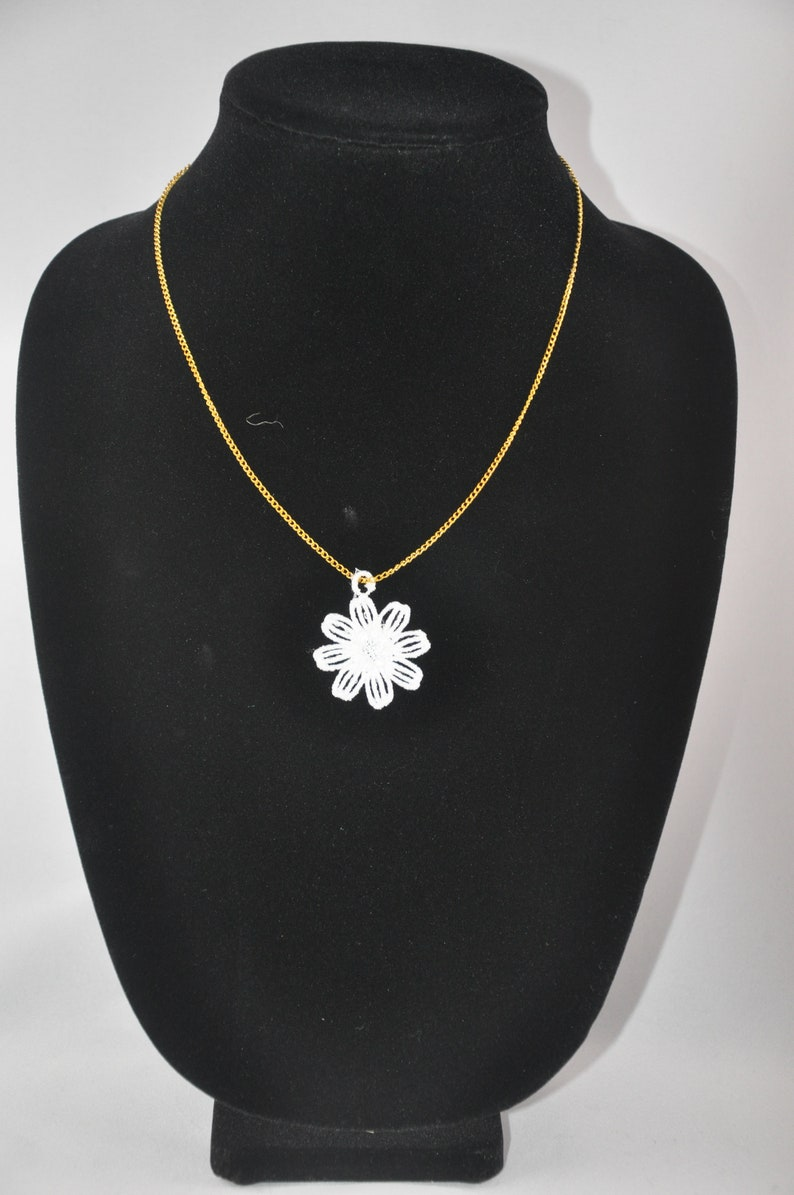 Flower Necklace /& Earring Set 9