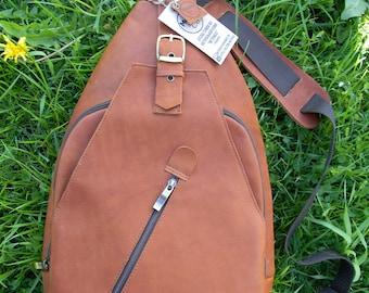 Leather backpack, leather bag, Leather Rucksack, Genuine Leather Brown Backpack, Womens Backpack, Mens backpack, Handmade