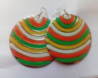 Moansa statement earrings