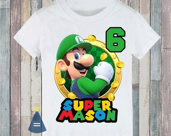 Kisspng Super Smash Bros Youth Fashion Tops Casual Short Sleeve Print T-Shirts for Boys and Girls