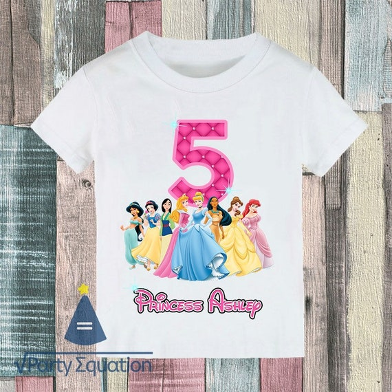 New Tangled Rapunzel Personalized Custom Birthday t shirt party Add Name /& Age