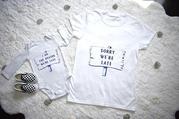 Baby Matching Shirt and Onesie Mama
