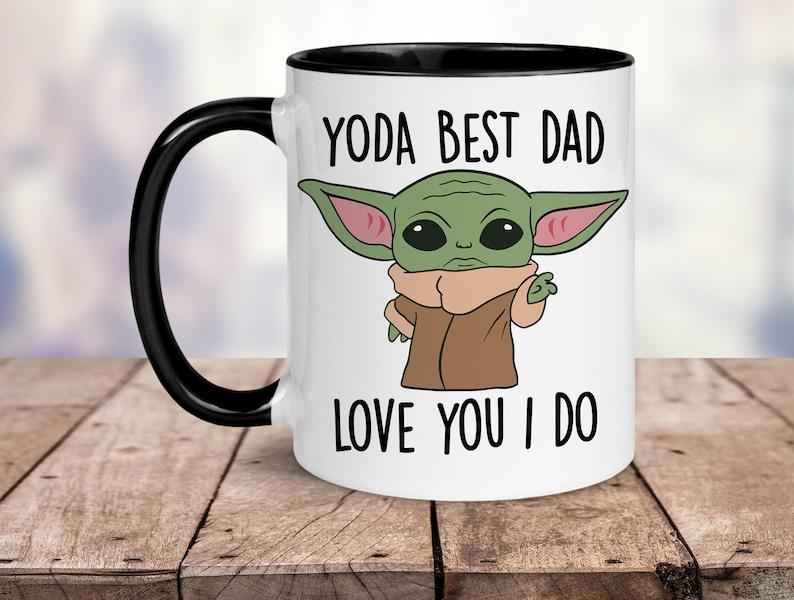 Yoda Best Dad Love You I Do Mug