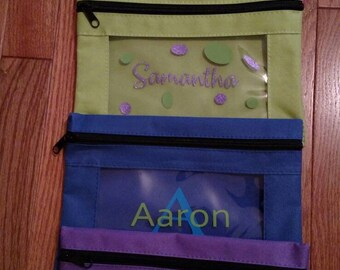 Personalized Pencil Pouch
