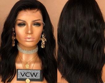 Beautiful 100% Brazilian Human Hair, Lace Wig