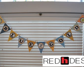 Digital Cub Scout Blue and Gold Banquet Banner