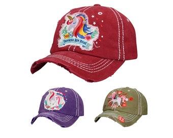 c391fd4793dab 4350 District Unicorn Vintage Baseball Cap Unicorn Design Cap Unicorn Lover  Cap