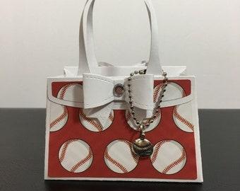Baseball Party Favor Treat Bag Gift Bag Purse & Baseball gift bag | Etsy