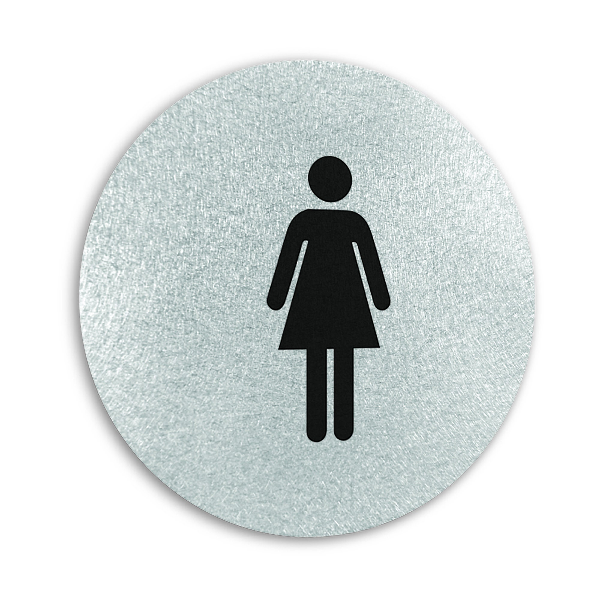 Modern WOMEN/'S Restroom Fitting Room SIGN Contemporary Aluminum Metal In//Outdoor