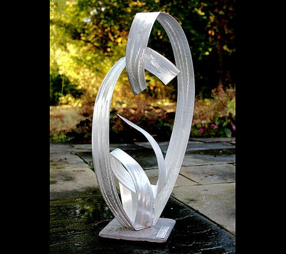 Metal Outdoor Lawn Yard Art Aluminio, Outdoor Metal Artwork