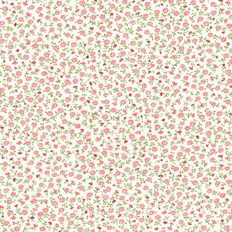 Sold by the 12 yard COUNTRY /& CLOTH Sevenberry Petite Garden Blossom