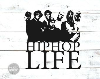 Hip hop svg   Etsy