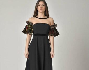 ddf2d34c8a5 PLUS SIZE Evening Vintage Style Gown  Formal Off Shoulder Dress  Ankle  Length Evening Wear  Prom Maxi Cocktail Dresses   Unique Design