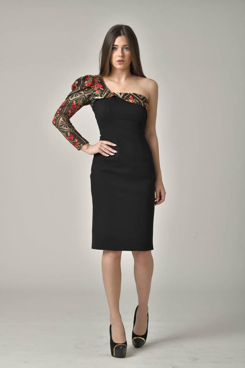 45884da83c PLUS SIZE Little Black Dress   Bodycon Cocktail Designer Prom