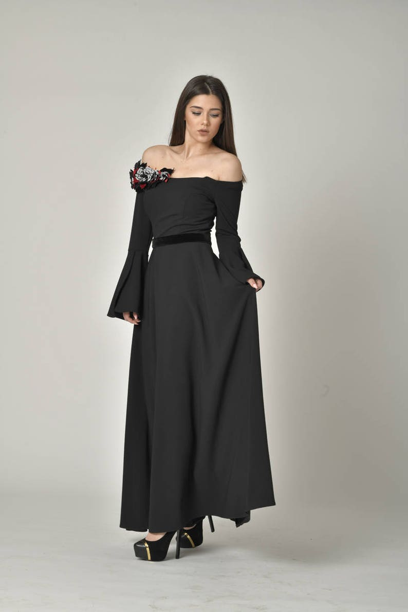 a243d69fb6 PLUS SIZE Evening Gown Formal Designer Dress   Off Shoulder