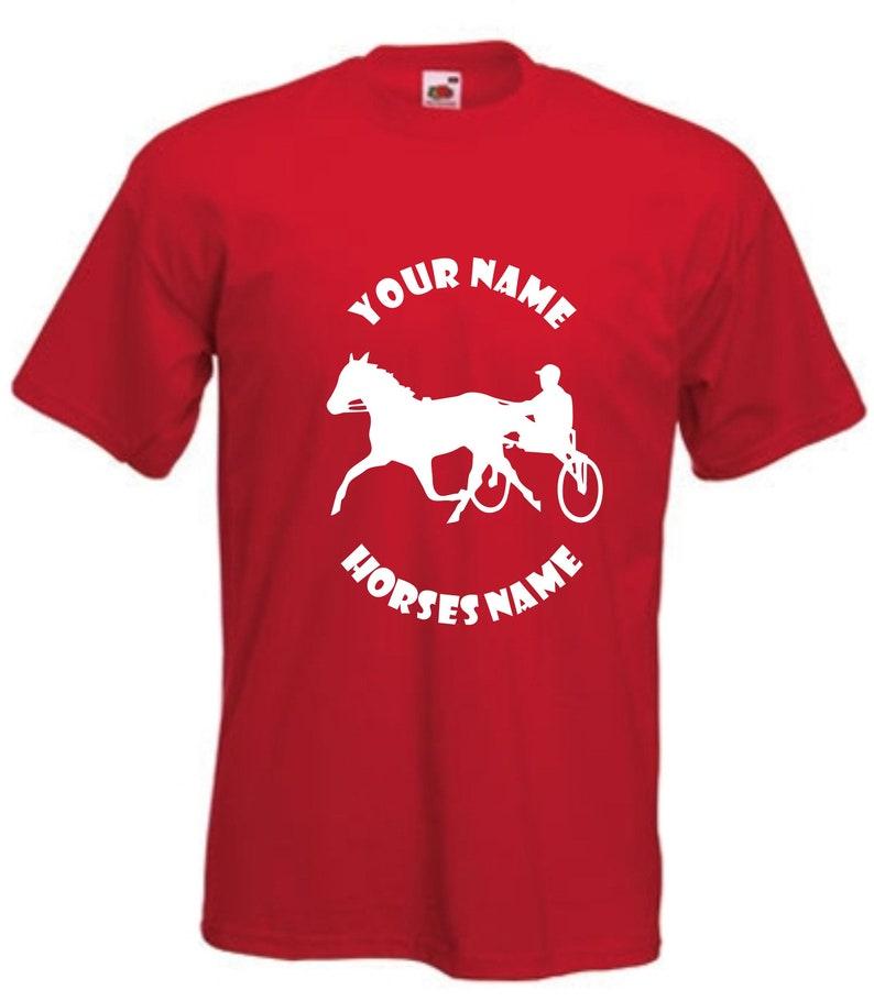 Love Horse Riding Horses Pony Girls Kids Funny T-Shirt  Age  5-15