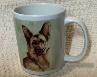 German Shepherd Faith Mug