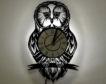 OWL Wall Decor, Home Decor, Night Lights