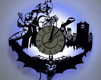 Batman and Harley Quinn wall night light Wall Lighting Night Light Function