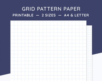 grid pattern etsy