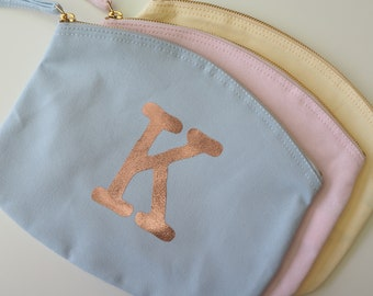 Personalised - Initial Travel Pouch