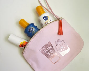 SunCream Travel Pouch
